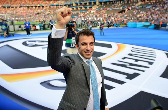 FOTO Del Piero in Juventus-Barcellona #UCLfinal
