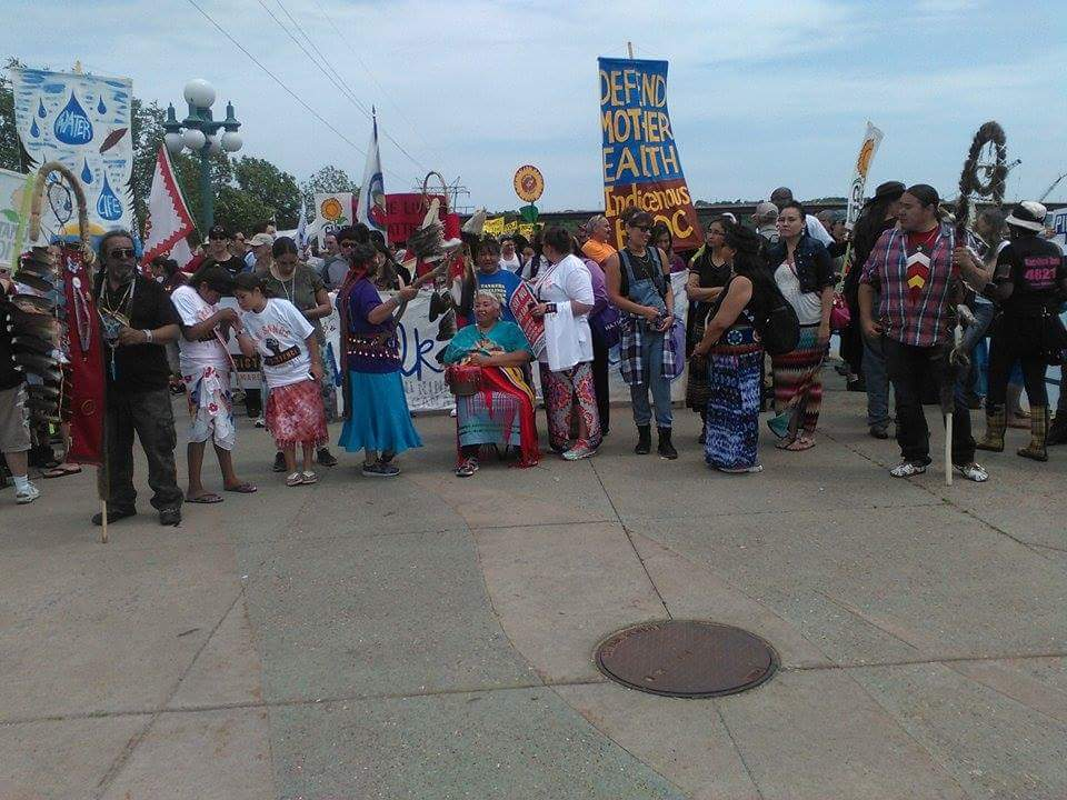 Our women leaders are leading this march! With men warriors providing support! #StopTarSands http://t.co/onaGSG0NYu