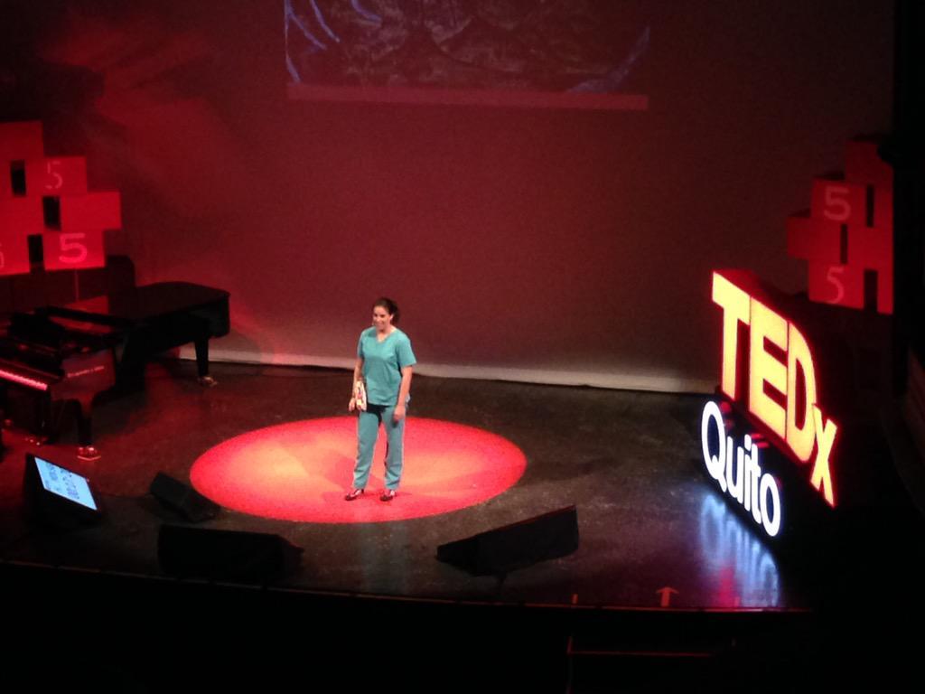 Y empieza la siguiente sesión!!! Le toca a la Dra #ruraleando!! 😁🎉👏🏼👌🏼 @niches13 #PasadoPresenteFuturo @TEDxQuito http://t.co/v0Zkyg7c53