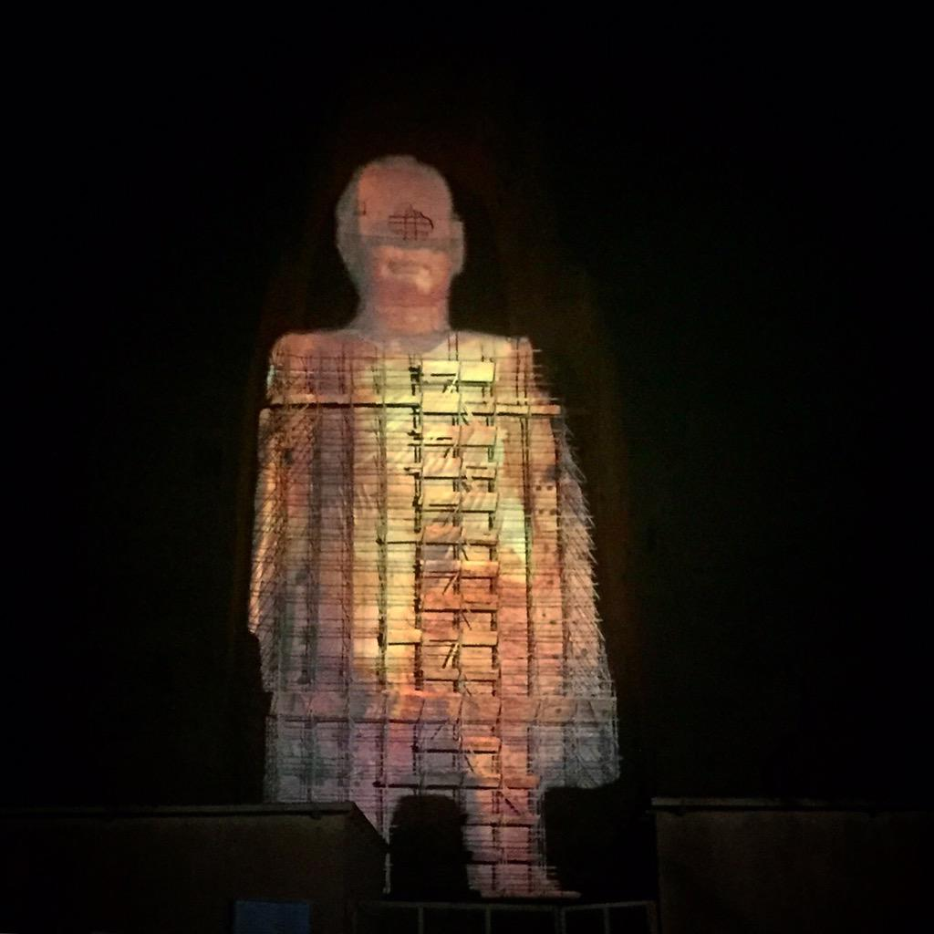 There Are Now Laser Buddhas In Afghanistan