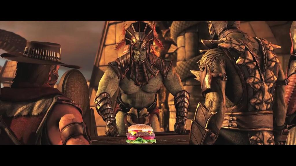 Lmao Dashie and them burger edits on his MKX gameplay @DashieXP