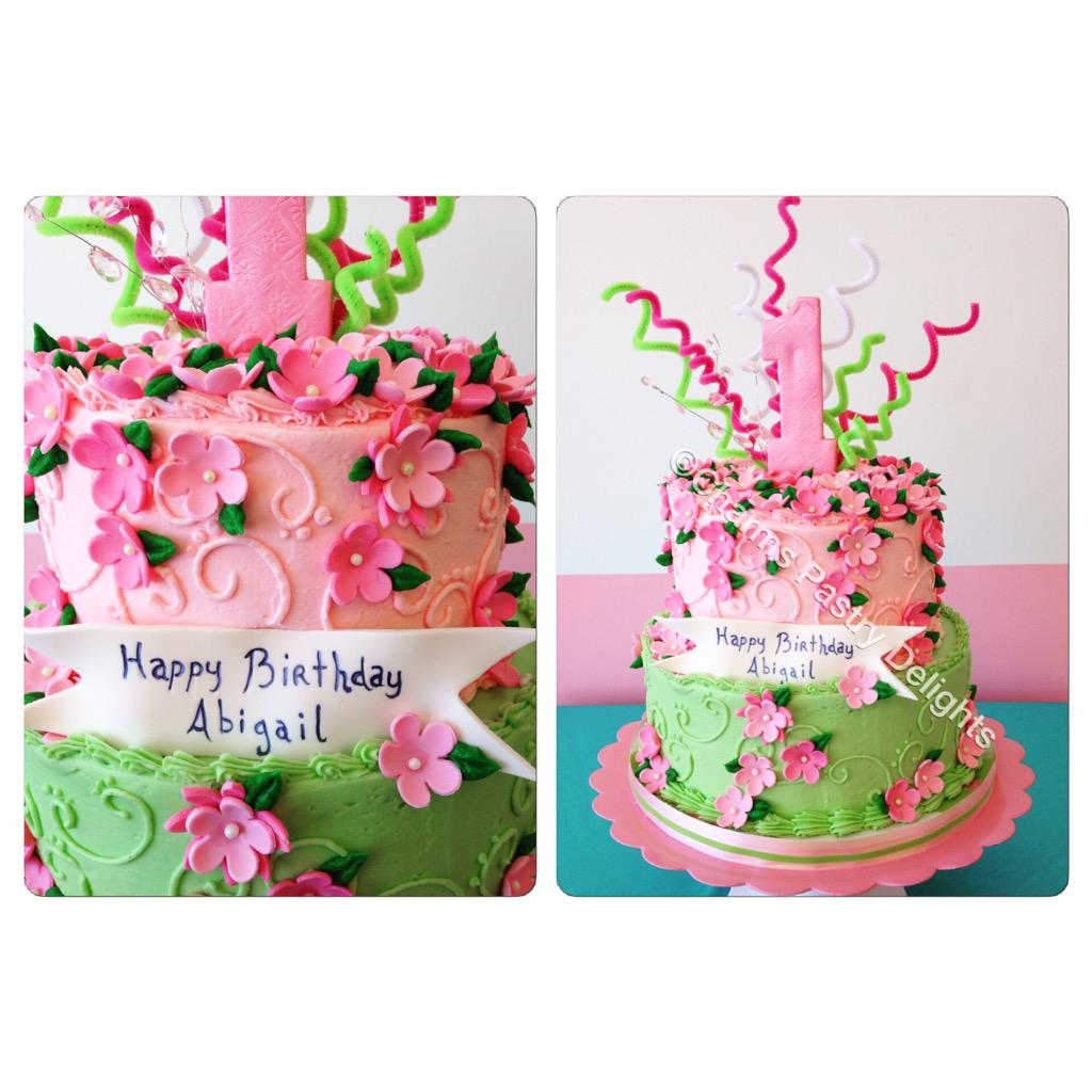 Charmspastrydelights On Twitter Little Girls Birthday Cake
