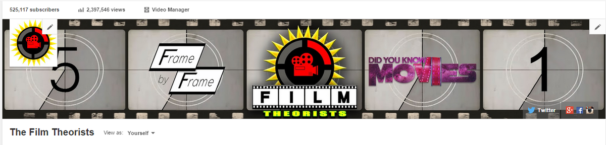 The Film Theorists (@matpatgt) - Vlogger Academy