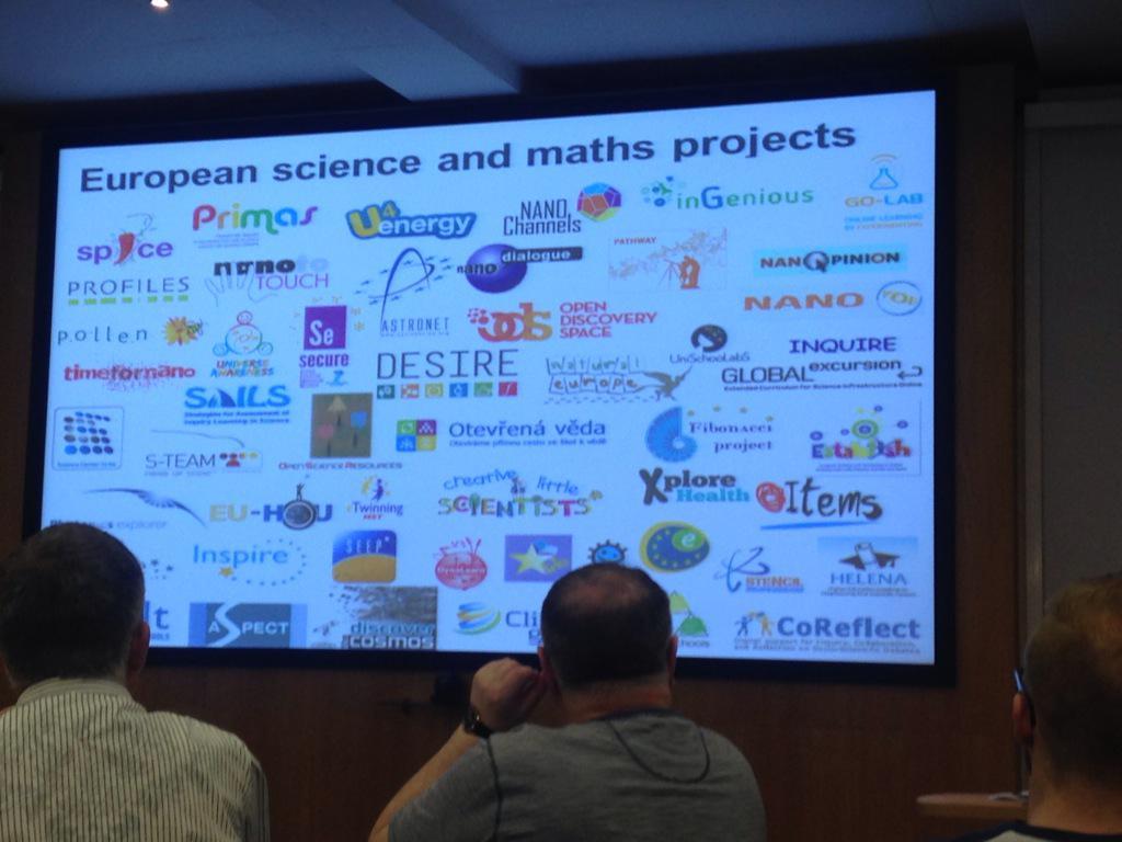Elaine Manton talking about Scientix at the Teach Meet @eTwinningUK #etuk15 http://t.co/29jW3YoGQJ