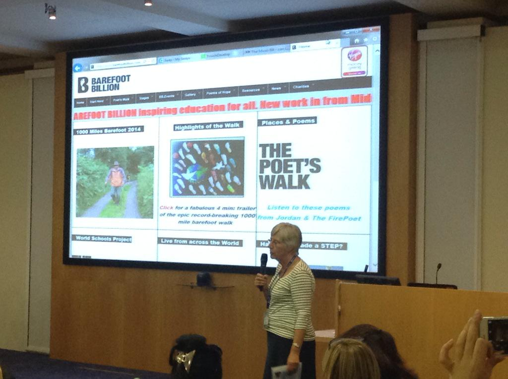 Barefoot Billion : a very inspiring and moving project http://t.co/qMNoARUUl9 #etuk15 http://t.co/VNEmG9HW8J