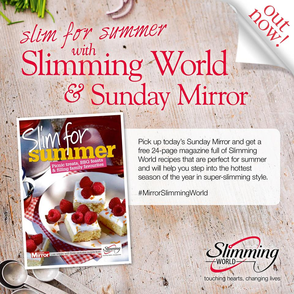 Slimming world on twitter get today 39 s sunday mirror for Slimming world my account