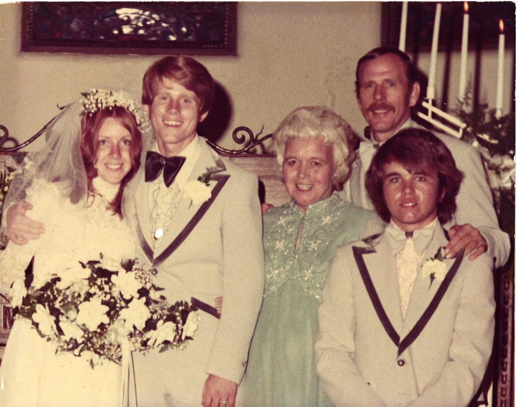 """Ron Howard on Twitter: """"Our #Wedding #anniversary. Here's ..."""