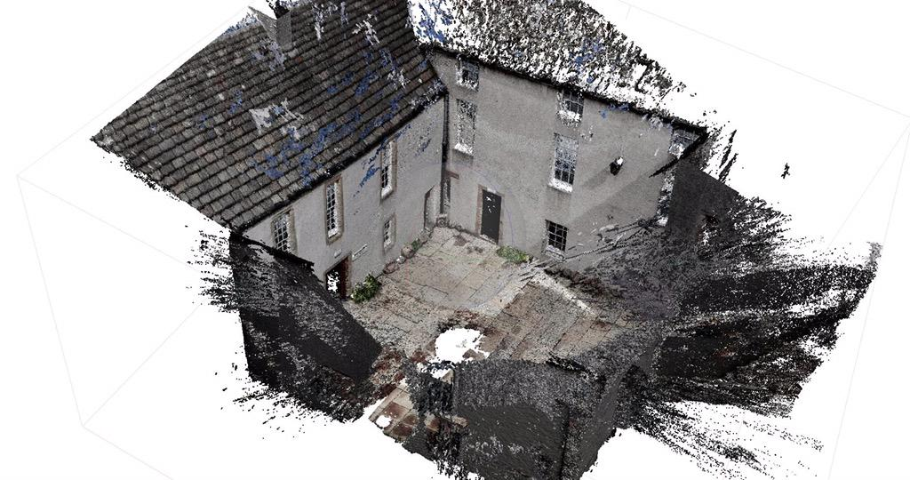 OrkneyMuseumArtist On Twitter Orkney Museum Courtyard 3D Model Photogrammetry Architecture OrkneyMuseums Rik Hammond 2015 Museums