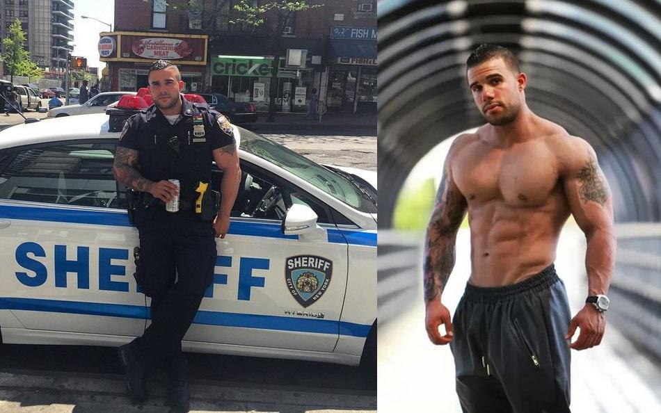 sexy police search