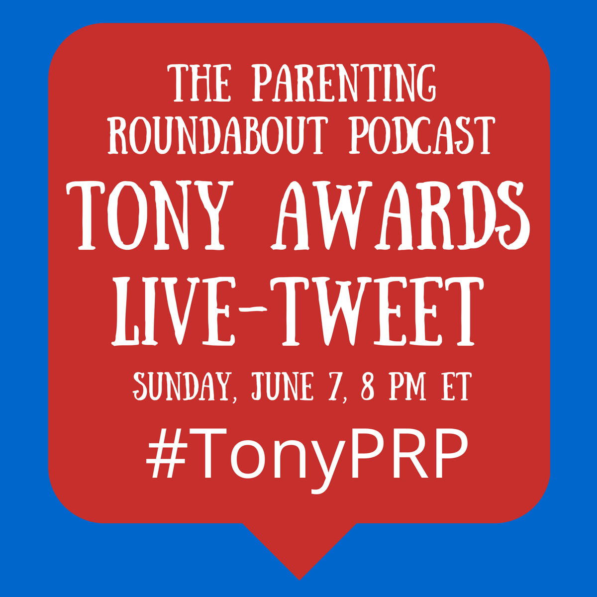 We'll be live-tweeting the Tonys tonight. Join us at #TonyPRP http://t.co/0ChcGennCc