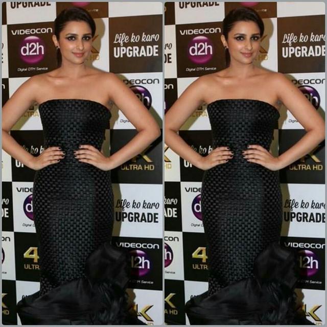 Look 3.  Parineeti Chopra on green Carpet of IIFA 2015 Awards.  Rate 1.....10  #instabollywood #bollywood #parineet… http://t.co/zmHjnoT0Fa