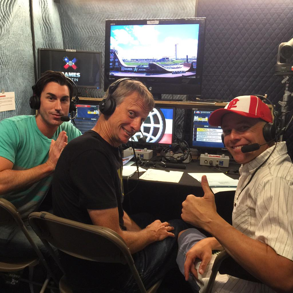 About to call #bigairdoubles with @tonyhawk and @brando_graham for @xgamesaustin_ #xgames http://t.co/vIaUakdwNp