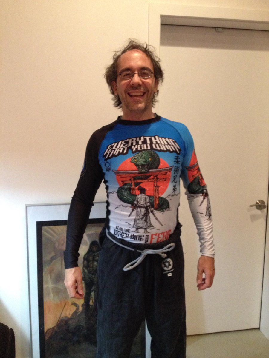 "Daniele Bolelli on Twitter: ""Just received the greatest rashguard ..."