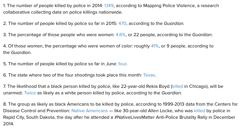 police brutality research