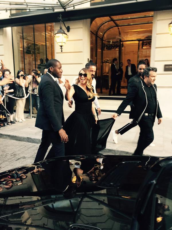 France: @MariahCarey in Paris, France this evening (via @hanaice) http://t.co/SlYJczbUX1