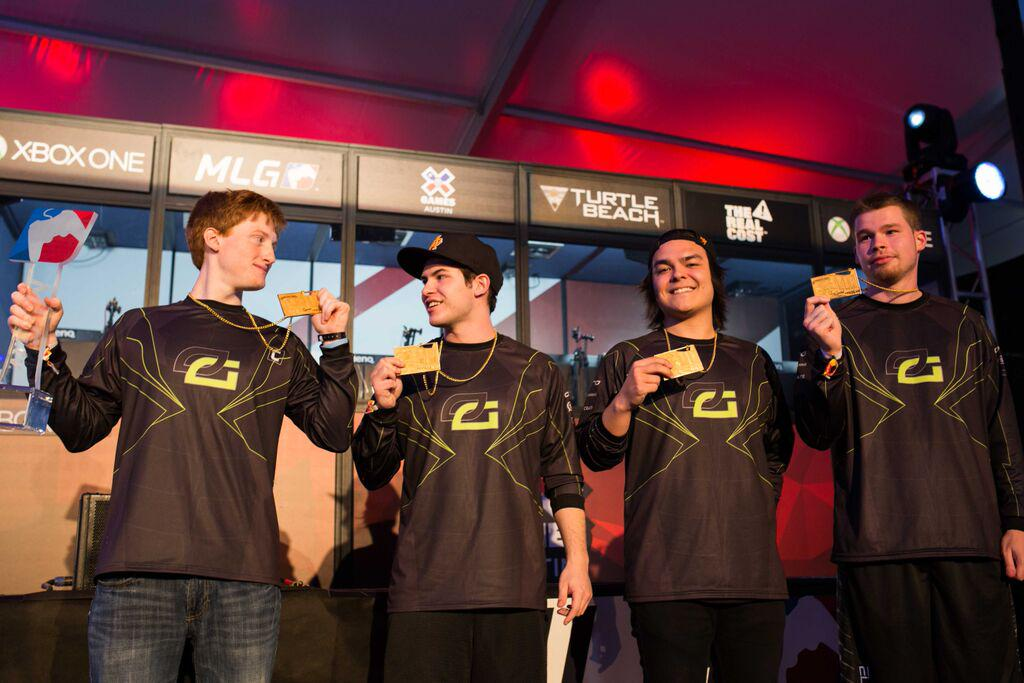 OpTic Gaming, winners of CoD X Games