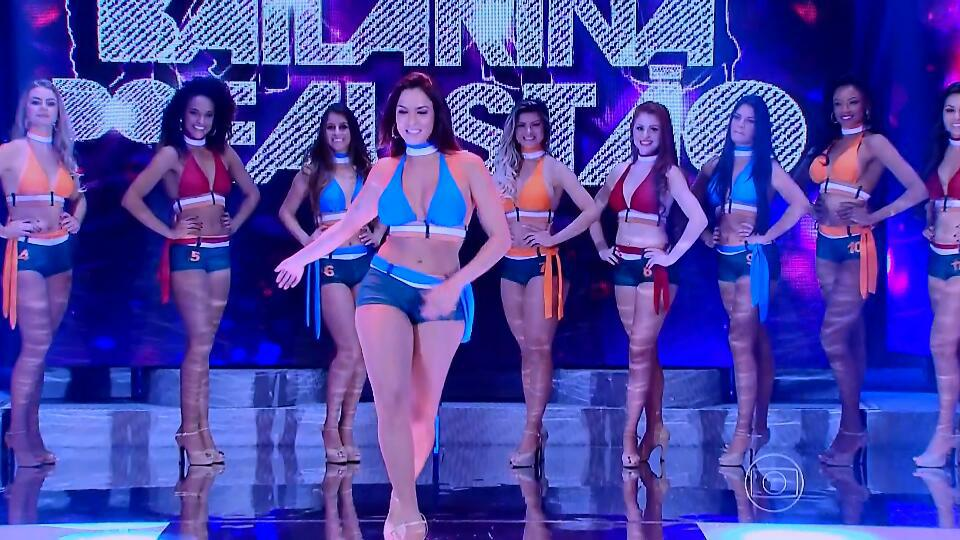 bailarinas do faustão concurso piada crítica