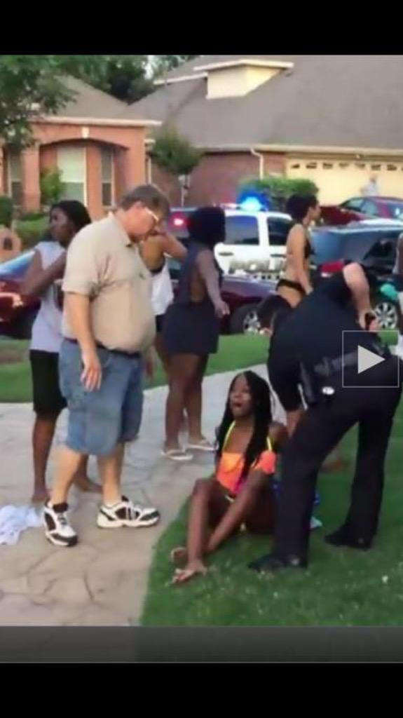 When fascism comes to America, it will be wrapped in jorts and a XXL golf shirt #McKinney http://t.co/4UTWsu8OX7