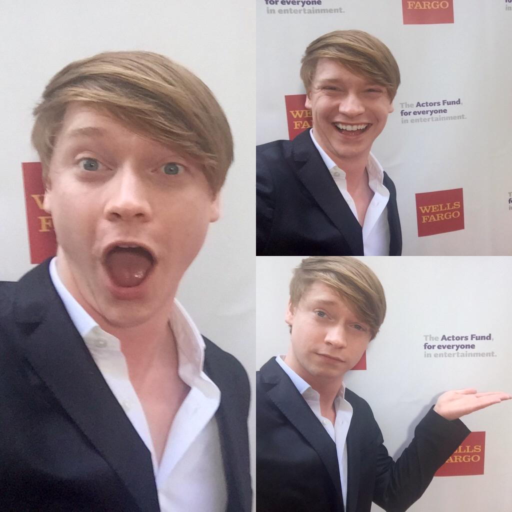 #TonyParty2015 selfie fun with our awesome new pal @CalumWorthy! @TheTonyAwards #ActorsFundLA #AustinandAlly http://t.co/0eVyhcZ4i2