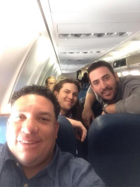 Bartolo Colon posted this picture of the Mets' aces on Facebook http://t.co/gZ2SjtuF4S http://t.co/yxRPhfC1NI
