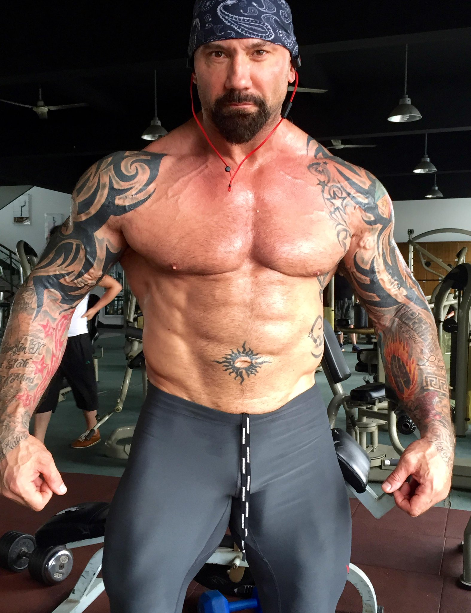 "Dave Bautista on Twitter: ""Told you Id make it work!! # ..."