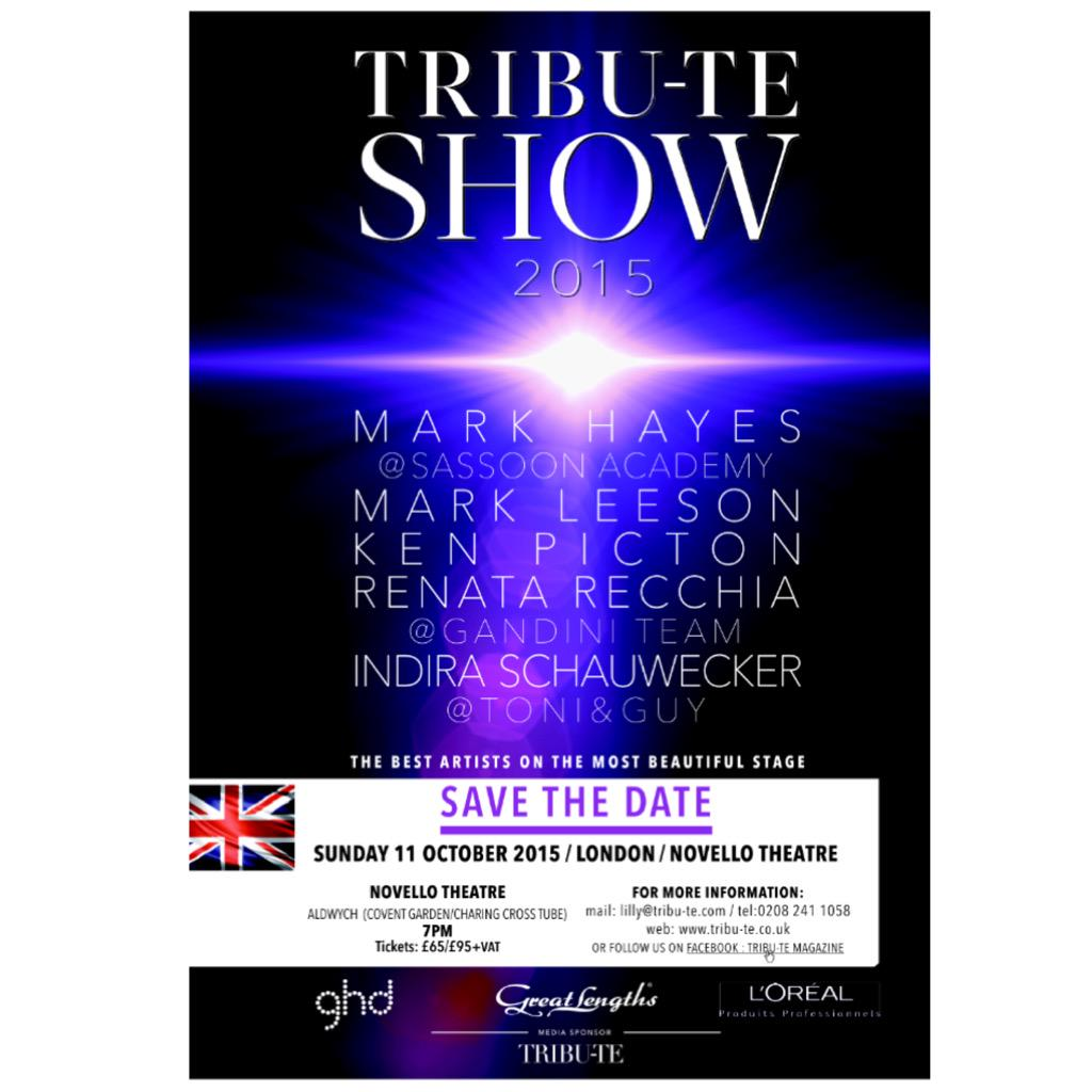 How excited am i @TributeMagUk @ghdProfessional #tributeshow http://t.co/W7fCJpHyBn