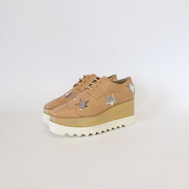 .@StellaMcCartney launches this season's flatform into the sartorial stratosphere! #NewIn http://t.co/sCiVIrfC2R