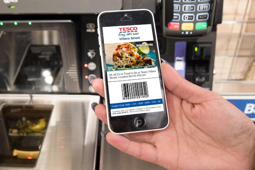 .@Tesco is trialing #mobile coupons to passing shoppers with @weveuk http://t.co/FcFAGo0K4x @shonaghosh @MarketingUK http://t.co/SOOMnMM740