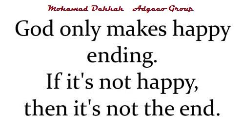 Mohamed Dekkak On Twitter Only God Knows What Will Make Us Happy