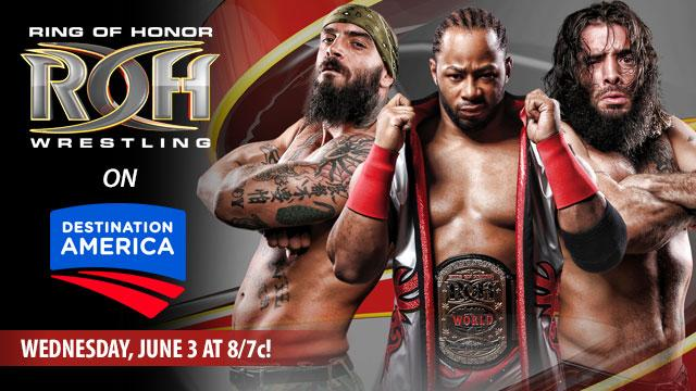 What the hell?  ROH on Destination America?