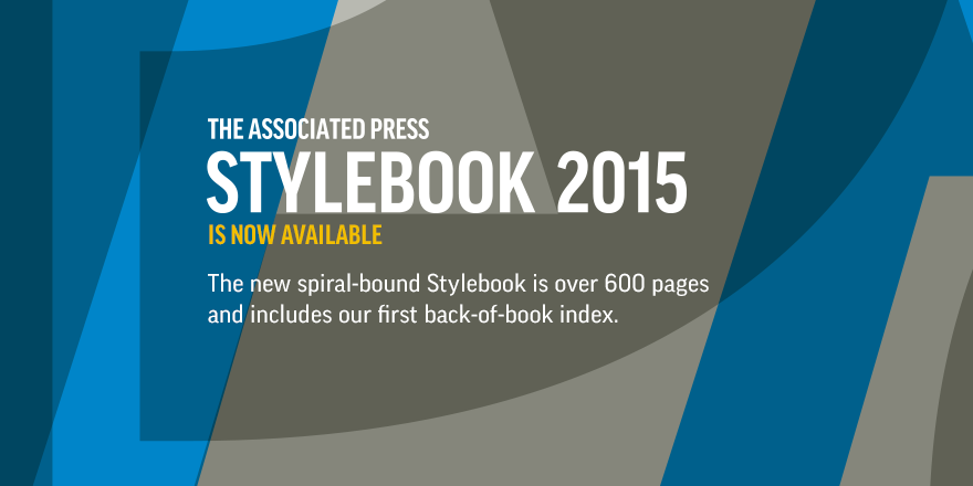 Thumbnail for #APStyleChat on what's new in the 2015 Stylebook