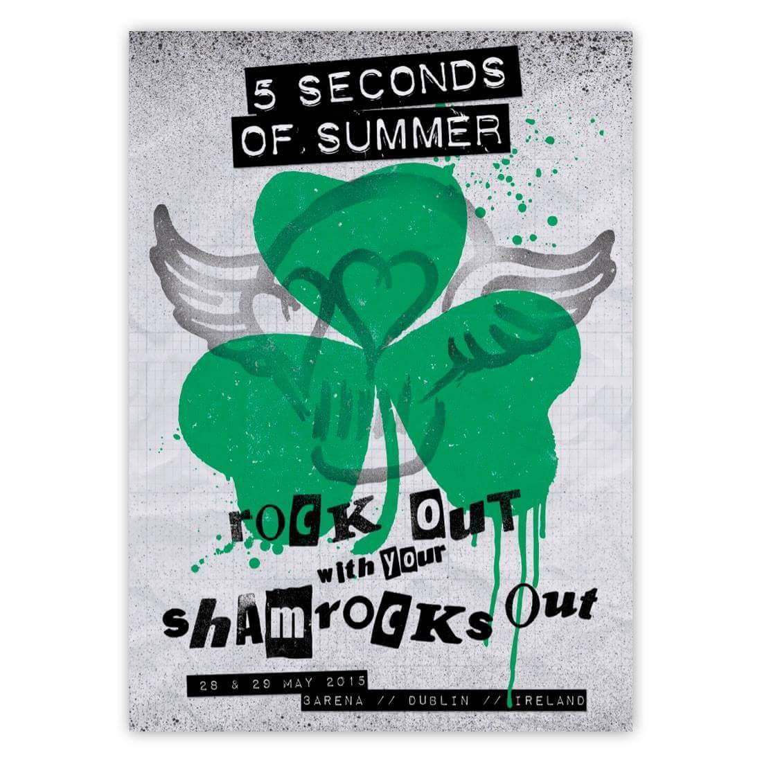 5sos poster design - 5 Seconds Of Summer On Twitter Dublin 28 05 2015 29 05 2015 Http T Co Zzqxwjiol0