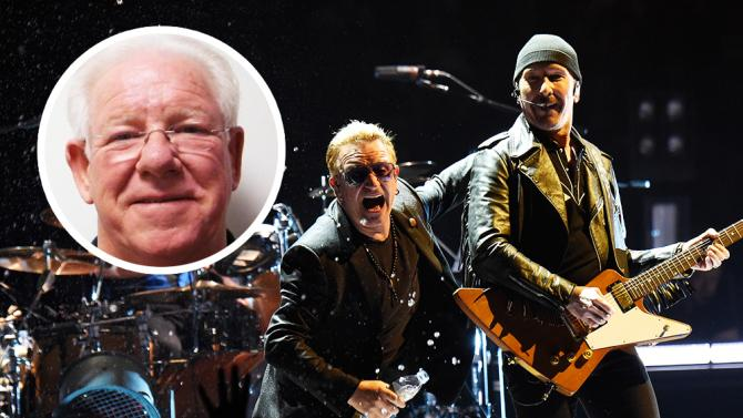 FOTO Dennis Sheehan, storico tour manager degli U2