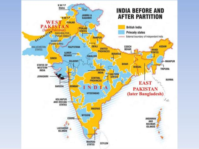 Rare  Historical on Twitter A rare map of India before and