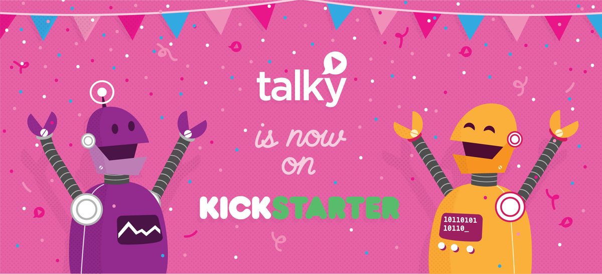 It's time! Help us fund @usetalky now!  https://t.co/f2EHaVuTWM http://t.co/oYYyNG4xiC