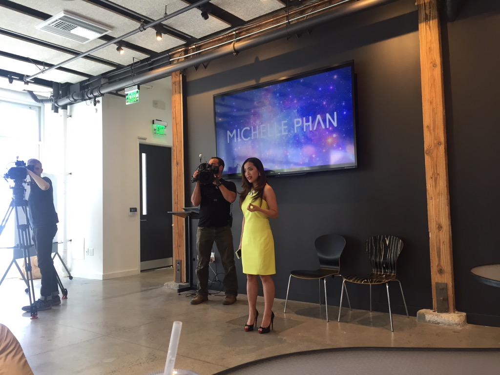 .@MichellePhan came by @highway1io for @bazilliondc with @davemcclure & @christine_tsai http://t.co/Ndsa2BM7xs