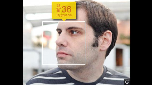 Microsoft's age detection shows up in your Bing image searches