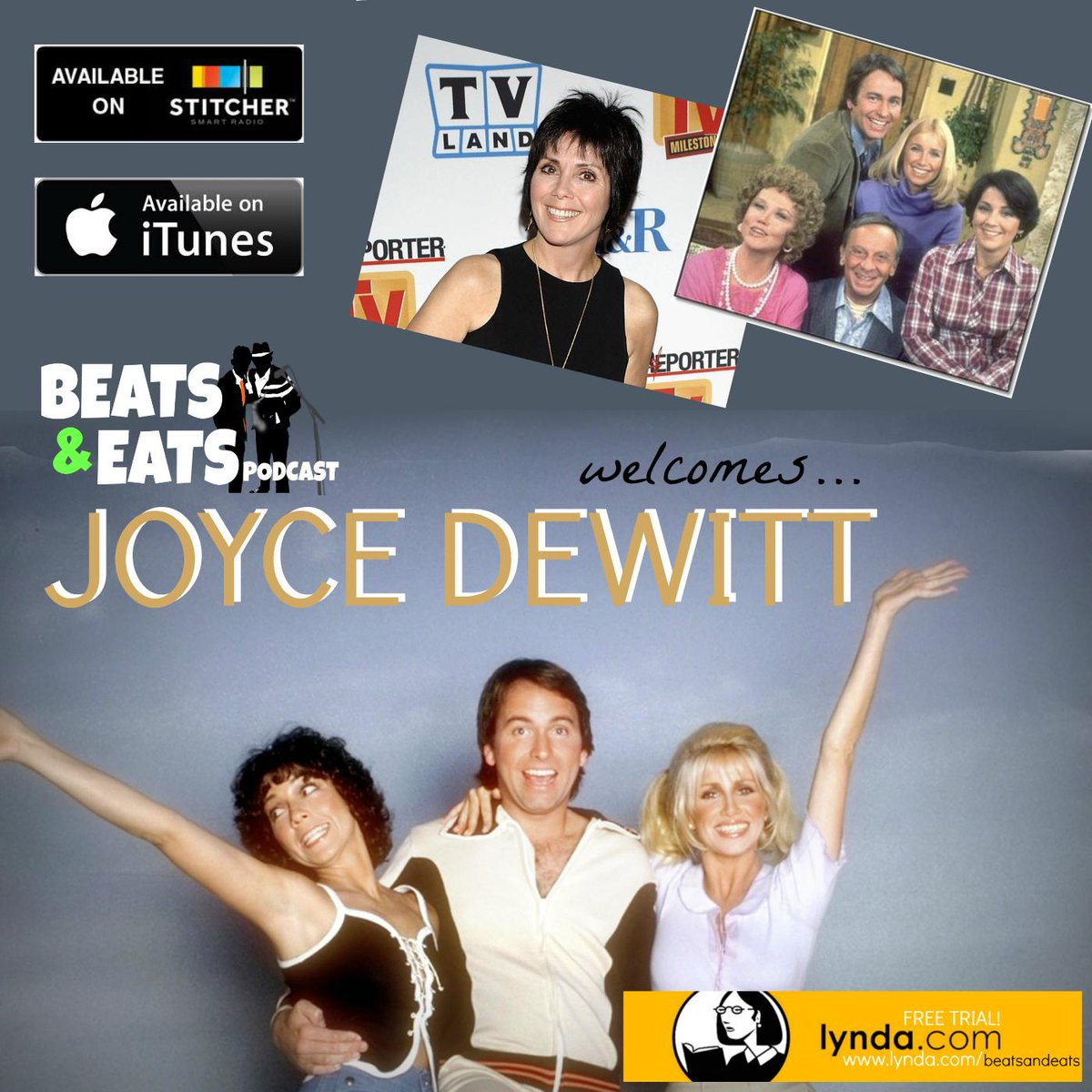 Joyce DeWitt (Janet) discusses her relationships w Suzanne Somers, John Ritter & more here: http://t.co/xeKSvPlp6q | http://t.co/vuobHs63Az