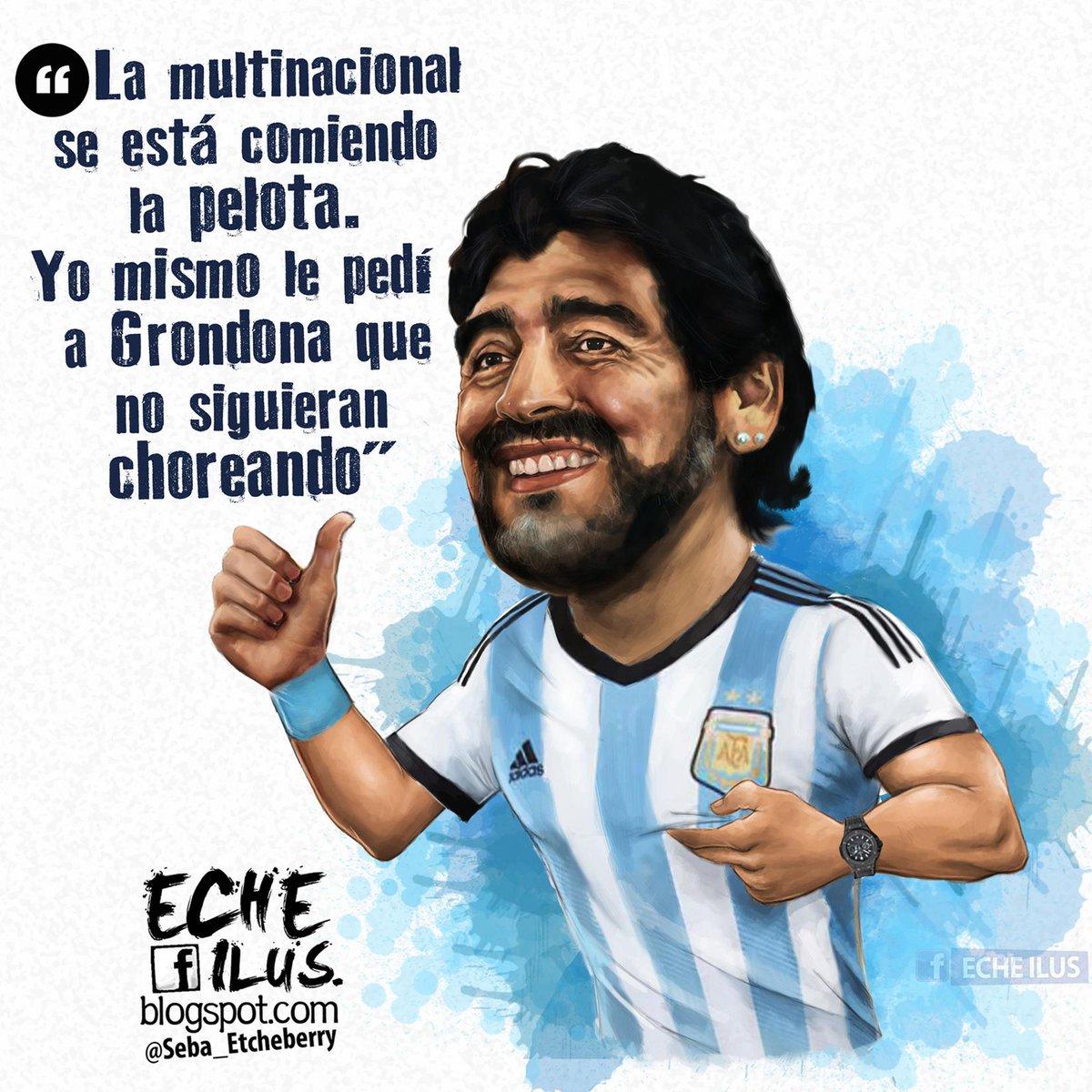 DIEGO MARADONA: «La FIFA odia al fútbol y la transparencia»  #Maradona #FIFA http://t.co/G0eNG8ez7w