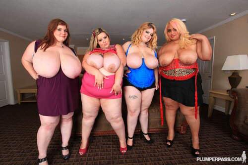 My #wcw #WomanCrushWednesday @MandyMajestic @LexxxiLuxe @SashaaJuggs1 @lovelysillk only 1 missing is