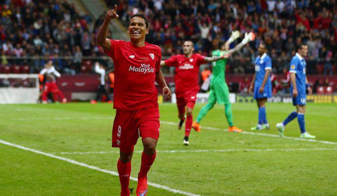 Super Bacca in Dnipro-Siviglia 2-3, Video Highlights Finale Europa League 2015 a Varsavia