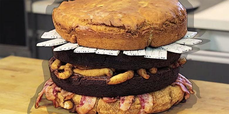 'Nutella Donut Burger' – Epic Meal Time Create A Huge And Ridiculously Calorific Monster http://t.co/wNlSYQcu4q http://t.co/qYbL8k08V4