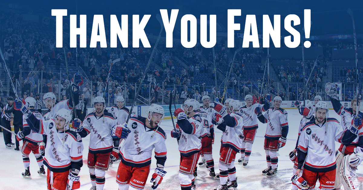 Fans, thank you for your great support this season! We're honored to have such great fans to play behind. http://t.co/NchF8TOGkc