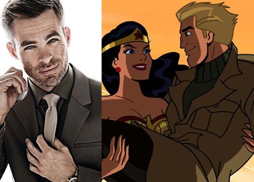 Chris Pine to Play Steve Trevor in Wonder Woman Movie http://t.co/fJxqrWakPa http://t.co/KNJb5L80sH
