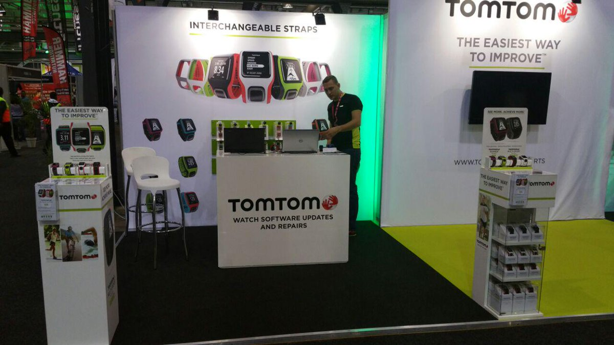 #ComradesMarathon 2015 - Visit the TomTom Stand for GREAT EXPO specials! Come also get your watch updated. http://t.co/U6zcPgYZSN