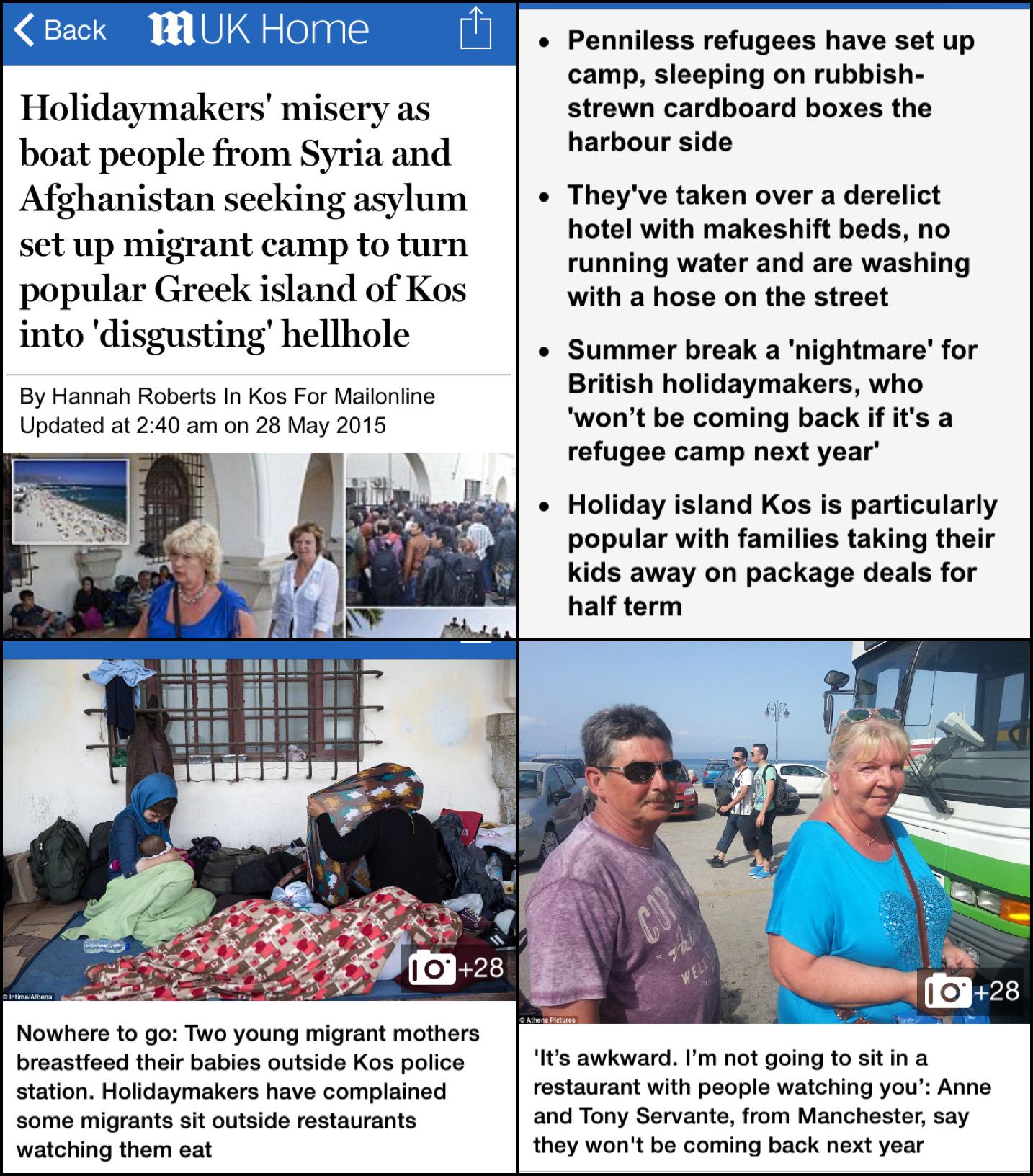 RT @DMReporter: BOO HOO: Ever sympathetic to the struggle of refugees, the Daily Mail reaches new levels of care and compassion… http://t.c…