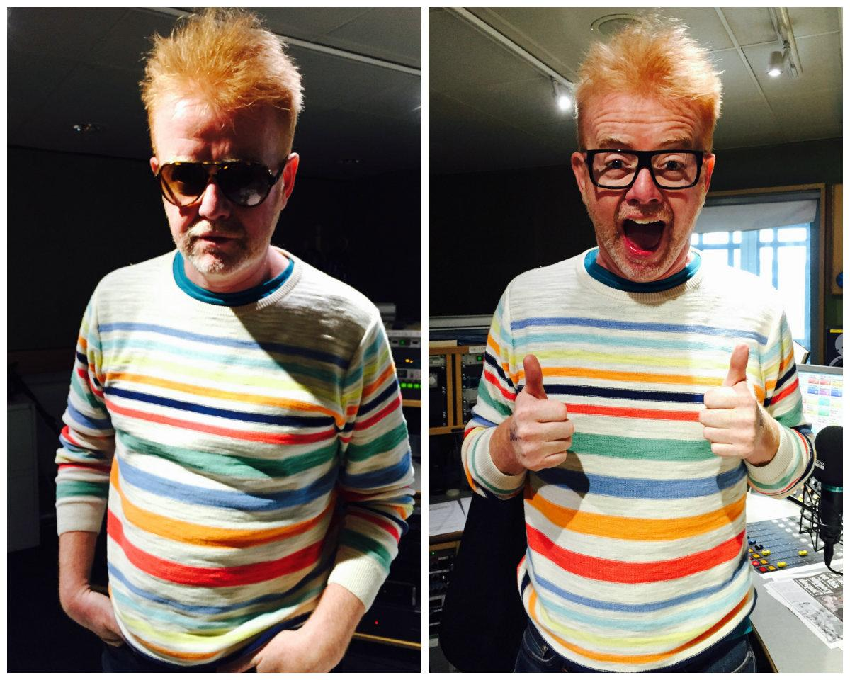 Yeh Baby. RT @BBCRadio2: Will this be the happiest show in the world with @achrisevans? http://t.co/iJfvDOiI7H