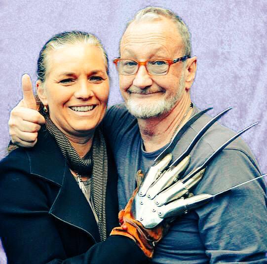 Yes, Freddie Krueger's wife does enjoy wearing the glove. #horror #love #marriage #support http://t.co/U3lA4wyCPC