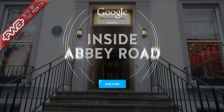 RT @fwa: Inside Abbey Road just announced as Site of the Month for May: http://t.co/Or7DNyGJ1h http://t.co/thrYyzCVrO