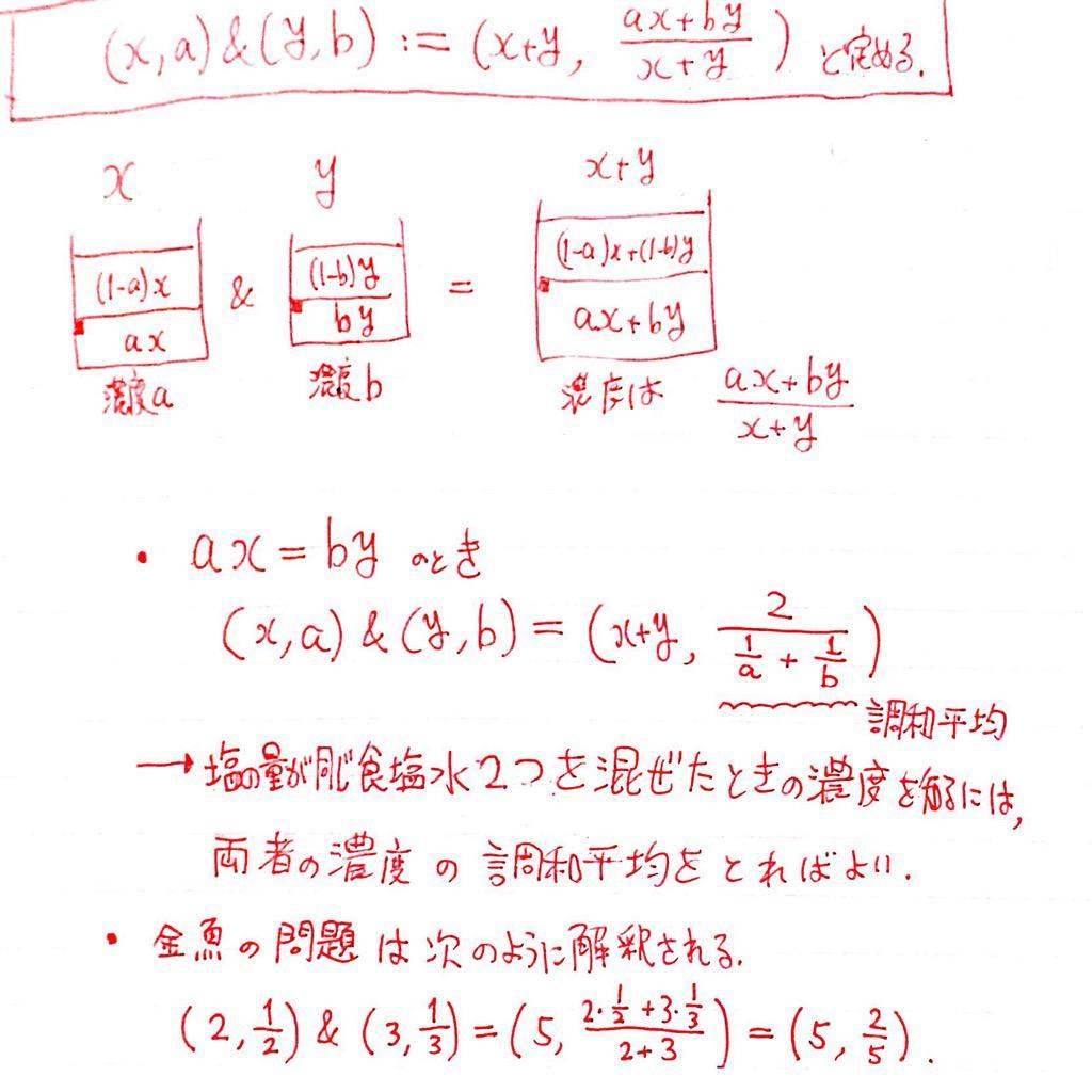 """ミカヅキモ@数学 on Twitter: """"これ..."""
